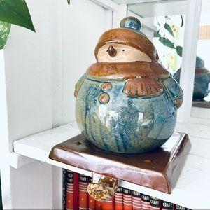 Kirkland's Potter's Garden Ceramic Stocking Holder